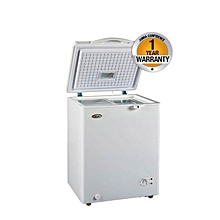 SF130 - Chest Deep Freezer, 3.8Cu.ft, Gross Capacity 108L, Net Capacity 100 Litres - White