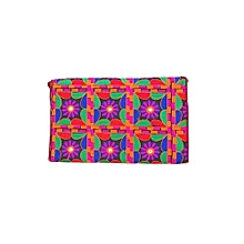 Euphoria Emb roidered Clutch - Multicolour