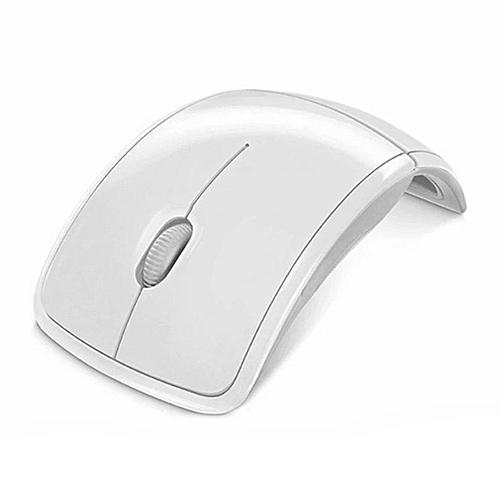 94c64091ffc Generic Optical 2.4G Foldable Wireless Mouse USB Folding Receiver Ergonomic  Mice white