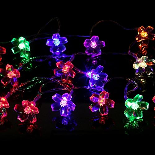 10 Led String Lights Party Wedding Garden Outdoor Christmas Decor Lights