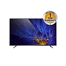 P6 UHD 4K Smart TV - 50″ - Black