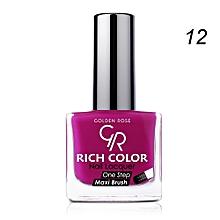 Rich Color Nail Lacquer - 12 - 10.5ml