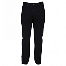 Black Slim Fit Mens Pants