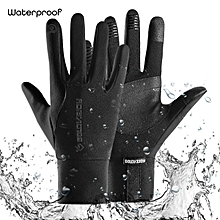 Motorcycle Gloves Warm Winter Waterproof Windproof Guante Motor Screen Full Finger Glove Motocross Motorbike Gloves