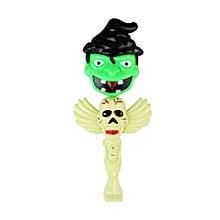 Mofun Halloween Pumpkin Glow Stick Ghost Green Light Decoration Toys Party Home Decor-