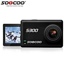 LEBAIQI SOOCOO S300 4K 30FPS Wifi Touch Screen Sports Camera Built-In WiFi Gyroscope Anti-shake