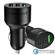 Tronsmart TS-C3PTA 42W 3-Port USB Car Charger with Qualcomm Quick Charge 3.0 and VoltIQ Technology QTG-W