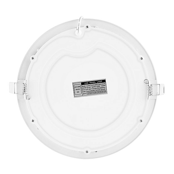 Generic Home 18w Super Bright Ultra Thin Led Panel Light Ceiling