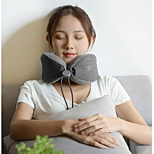 Xiaomi Multi-function Soft and Comfortable U-shaped Massage Neck Pillow Double Interior Bedsit Pillo