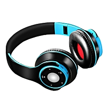General Stereo SG-8 Head Wear Foldable Wireless Bluetooth Headset Headphones-Array