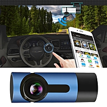 G6 170 Degrees Wide Angle Full HD 1080P Video Car DVR, Support TF Card / WIFI / Loop Recording, with Starlight Night Vision Function(Sapphire Blue)