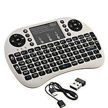 Rii i8+ 2.4G Wireless Mini Keyboard for Smart TV Android Box PC BLACK/WHITE