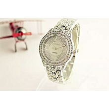 Diamond  Luxury Brand Wristwatch With Rhinetone and Crystals Ladies Watch Quartz