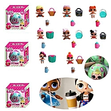 Henoesty LOL Surprise Doll 1 Lil Sisters Ball 7 Layers Series Surprise Kids Xmas Toy 02
