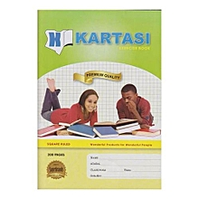 Kartasi Brand - Exercise Book - 200Pages - A4 - Square Ruled