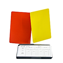 Referee Card Plastic Set+Pencl: Rb-Abs-01: