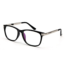 7c96af96dea Women Men Retro Eyeglass Frame Full-Rim Glasses Clear Lens Metal Designer  Unisex