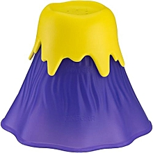 Volcano Shaped Microwave Cleaning Tools - Purple & Yellow