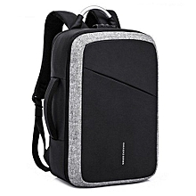 64c377caca19 Men  039 s Backpack Anti-theft Laptop Bag Large Capacity Travel Backpacks