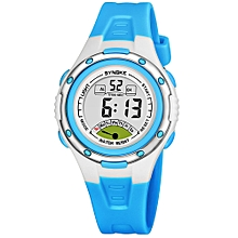 Sport Children Wrist Watches LED Digital Stopwatch Alarm Luminous Water Resistant Girl Boy Watch