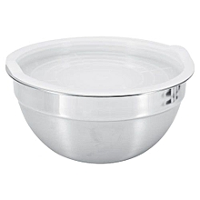 5 Sizes Stainless Steel Thicker Mixing Bowl With Lid Baking Salad Bowls Kitchen Cooking Tools