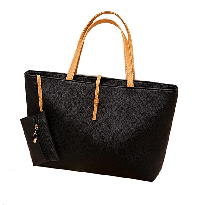 Hiamok_New Handbag Lady Shoulder Bag Tote Purse Women Messenger Hobo Crossbody Bag BK