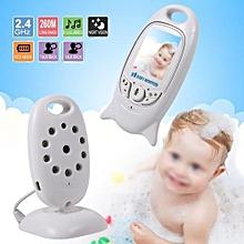 Functinal Wireless Indoor Security Camera Infant Baby Sleeping Monitor Night Care Video- UK Plug