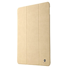 BASEUS Brand Terse Series Multi-Function Standing Tablet pu Leather Case For Apple iPad Pro 9.7 inch Khaki) HSL-G
