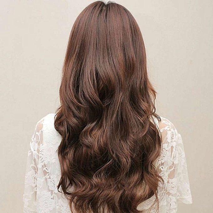 Buy Neworldline Head Clip Curly Wavy Women Synthetic Hair Extension