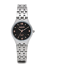 rose gold timescale lovers watch men leisure girl mens watch analog stainless steel quartz wristwatch male womens watches