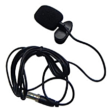 Microphone Clip-on Omni-directional Condenser - Black