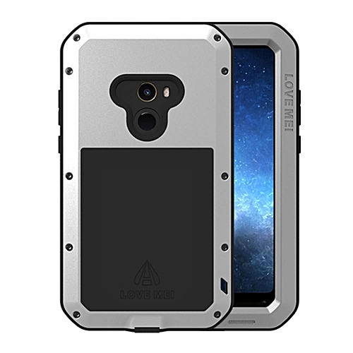 sports shoes e66a3 5f04c Xiaomi Mi Mix 2 Waterproof Case, Shockproof Snowproof Dustproof Durable  Aluminum Metal Heavy Duty Full-body Protection Case Cover for Xiaomi Mi Mix  2