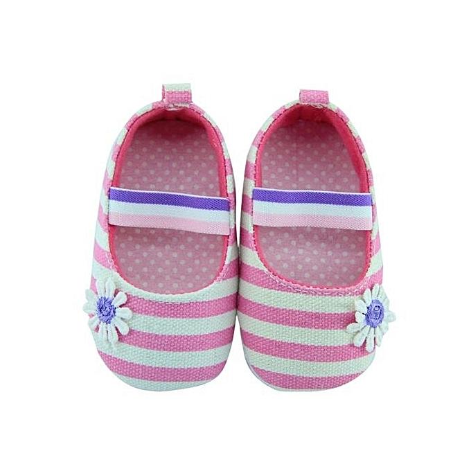 Buy vakind infant girls shoes soft bottom shoes polka dot flower infant girls shoes soft bottom shoes polka dot flower shoespink12 mightylinksfo