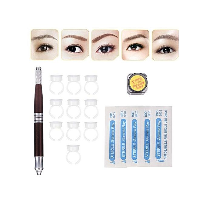 UNIVERSAL 3D Eyebrow Microblading Tattoo Double-ends Pen