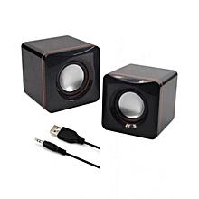 Multimedia speakers 2.0 USB - Black