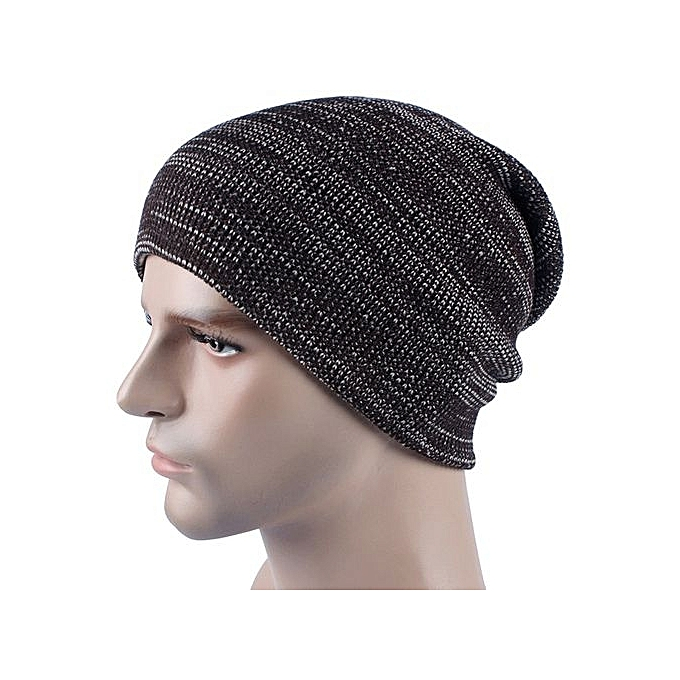 11df380ea92d53 Eissely Mens Cashmere Winter Crochet Hat Ski Knit Warm Cap @ Best ...