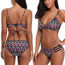 40713bafd2 Bikini Swimwear Women Bikini Set Beach Bathing Suit Low Waist Swimsuit  Push-Up