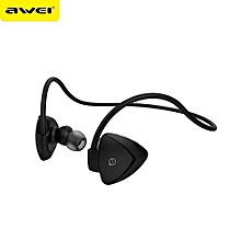 Wireless Bluetooth headphone, A840BL Wireless Sports Bluetooth Sweatproof Headphones(Black)