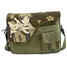 a0ea1ff9ae64 Kisnow Japan Anime Canvas High Quality Multifunctional Travel Outdoor  Crossbody Bags