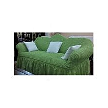 Sofa Seat Covers –3+2+1+1 - Lime Green