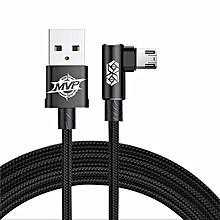 USB Cable Micro  Cable Mobile Phone Quick Reversible Charging USB Cables For HTC Red 2m