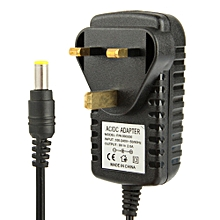 High Quality UK Plug AC 100-240V to DC 9V 2A Power Adapter, Tips: 5.5 x 2.1mm, Cable Length: 1m
