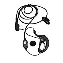 Walkie Talkie - Baofeng EP002 Hands Free Earpiece Earphone with Mic For Walkie Talkie Microphone