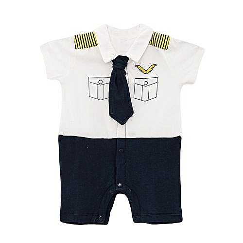 9086dee7b9db CARTERS Cute Baby Boy Toddler smart short Sleeve Boys Romper Jumpsuit with  a tie with FREE SOCKS