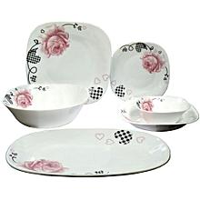 Dessini Dinner Plates Set -  White