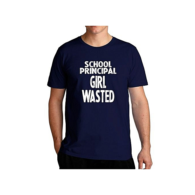 b099eafc Fashion School Principal Girl Wasted Cool Fashion T-Shirt For Men ...