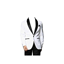 Men Tuxedos. Men Suit, Black and White, Slim fit 50/34