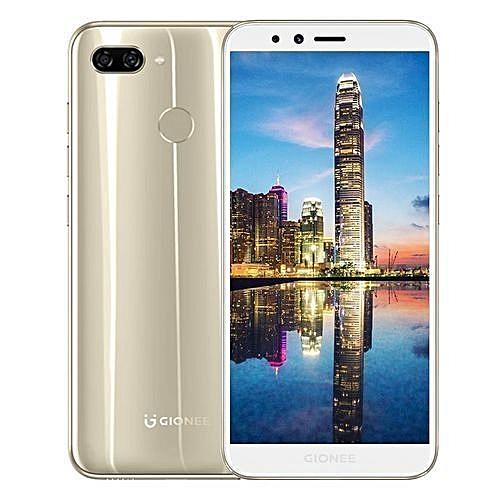 F6 5.7-inch (3GB, 32GB ROM) Android 7.1 Nougat, 13MP & 2MP + 8MP, 2970mAh, Dual Sim 4G LTE Smartphone - Gold