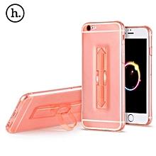 1 Piece HOCO 5.5 Inch Soft Transparent TPU Phone Cove Ring Bucket Case for iPhone 6 Plus / 6s Plus