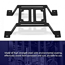High quality Steel Metal External Bracket for 120mm Computer Cooler Water Cooling Pump Row Flat Type